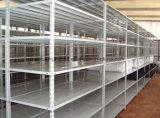 Largement utilisé Warehouse angle fendu Rivet Rack/ Muliti-Level étagères de fer