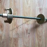 Aufbau-Verschalung-Baugerüst-Wand-Binden