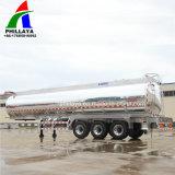 40 Cbm tanque metálico de liga de alumínio caminhão semi reboque-cisterna