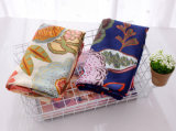 Mulheres Impresso Floral Moda lenço de seda de viscose (YKY1149)