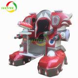 狂気の子供のライド・シミュレータ銃レーザーの射撃のゲーム・マシンの歩くロボット
