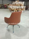 유럽 디자인 브라운 현대 가죽 바 라운지용 의자 (FOH-LC18)