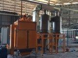 Powder automático Coating Line con Cylcone Spray Booth