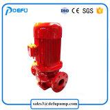 Вертикальный высокого давления Booster пожарных линейный центробежным насосом