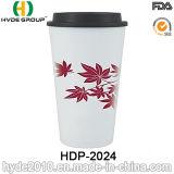 Fördernde Plastikkaffeetasse mit Kappe für Weihnachten (HDP-2024)