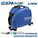 Potencia máxima 3.5kw la mayoría del generador silencioso del inversor con la maneta