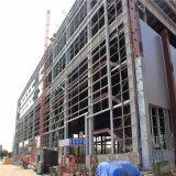 El tramo largo Bastidor de la estructura de acero Almacén de construcción de metal prefabricadas prefabricados
