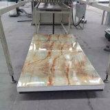 Panneau d'imitation de décoration de PVC de feuille de PVC de marbre de PVC