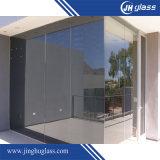 建物のための6mmの平らなヨーロッパの青銅によって絶縁される反射ガラス