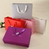 Custom печать роскошных магазинов подарков бумаги мешок