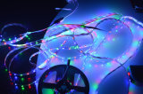 De alto brillo LED RGB 60LED 9.6W/m tiras de LED Flexible No-Waterproof
