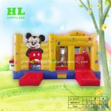Interessante Hot-Selling Estilo Mickey insuflável de sonho combinadas com escorrega para as crianças para reter uma parte maravilhosa