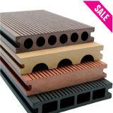 Decking composé en plastique en bois de plancher chaud de la vente WPC