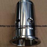 Válvula sanitária de Prv do aço inoxidável