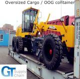 Professional hors de service de transport de conteneurs de jauge dans le monde entier
