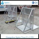 Barrière de police et fournisseur de barrière d'aluminium reconnus par GV