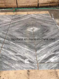 プロジェクトのためのカラーラのイタリアの灰色の大理石のタイル