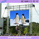 Im Freien/Innenmiete LED-Bildschirm-Panel, das Vorstand (P3.91, P4.81, P5.95 bekanntmacht, P6.25)