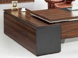 [فوشن] أثاث لازم خشبيّة مدار طاولة مكتب تنفيذيّ مكتب مكتب طاولة