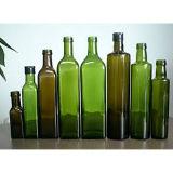 бутылки зеленого квадратного Marasca оливкового масла 250ml 500ml стеклянные
