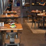 Restaurante Café Metal Industrial Vintage mesa e cadeira de mobiliário (SP-CS327)