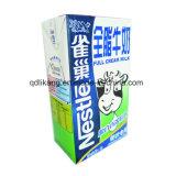 Paquete de rollos asépticos para jugos y leche