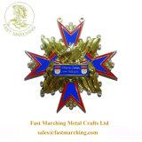 カスタム工場価格のハンガーのフィニッシャーの円形浮彫りの馬の金属の軍隊メダル