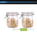 750ml keuken om de Container van de Opslag van het Voedsel van het Glas met Klem GLB