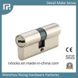 60mm de latón de alta calidad de cilindro de bloqueo de cerraduras de puertas Rxc01