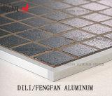 Testo fisso di alluminio della sezione della casella quadrata per le pareti ed i pavimenti