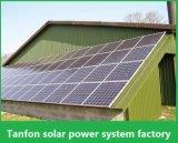 위에 & 떨어져 상한 디자인 5kw 10kw - 가정 사용을%s 격자 태양 광전지 시스템