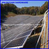 Винт стали углерода Q235 гальванизированный земной для солнечной системы установки