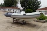 Aqualand 14feet 4.2mの堅く膨脹可能な漁船か肋骨の救助艇(RIB420A)
