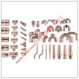 Encaixes para as tubulações de aço do cobre, as de aço e as inoxidáveis