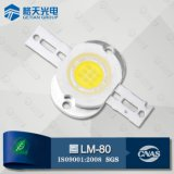 일류 LED Manufacturer High Output Lumen 160lm Warm White 1W LED