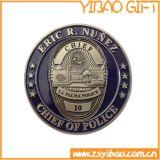 바퀴 국경 (YB-LY-C-01)를 가진 주문 3D 금 도전 동전