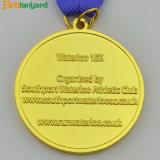 금 도금을%s 가진 주문을 받아서 만들어진 디자인 금속 메달