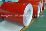 bobina de aço galvanizada Prepainted 0.125-0.8mm PPGI para o edifício