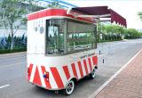Vrachtwagen de van uitstekende kwaliteit van de Kantine voor de Kar van het Voedsel van de Verkoop voor Kleine Onderneming