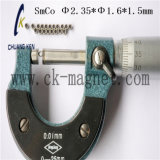 Ck-212 SmCo grau do magneto Φ 2,35*φ 1.6*1,5mm