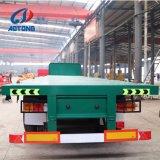 Flaches Bett-Behälter-Schlussteile der Qualitäts-3axle 40FT für Verkauf (Eintrittsgehäuse wahlweise freigestellt)