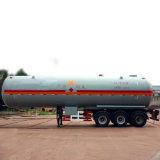 50000 litros 3 ejes del remolque del depósito de líquido químico