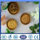 ソーダアルミニウム容易な開いたふたの飲み物の缶は製造業者を覆う