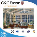 판매를 위한 새로운 박판으로 만들어진 유리 지붕 일광실 또는 유리 룸 또는 온실