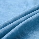 2016의 인쇄 가구와 소파를 위한 뜨개질을 하는 우단 직물