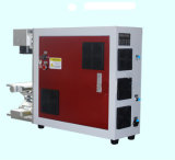 AC110/220V 1064нм Ipg, Raycus или Max 10W/20W/30W/50 Вт волокна станок для лазерной маркировки на натуральной кожей и тканью, органическое стекло, эпоксидный клей, акрил