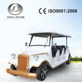Véhicule de touristes guidé électrique de véhicule de châssis en aluminium neuf de type avec 8 portées