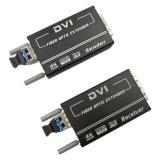 DVI aan de Steun van de Transmissie van de Convertor van de Vezel 4K