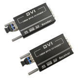 DVI к поддержке передачи конвертера 4K волокна