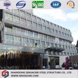 Exposición estructural de acero pasillo del edificio del coche 4s de la luz prefabricada del palmo grande